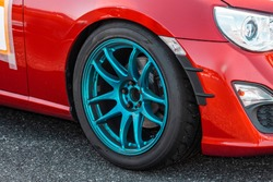 Aluminum wheels for modified cars