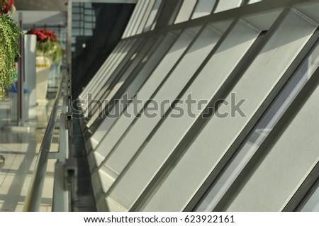 Aluminum windows and rails #623922161