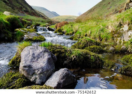 Alva Glen, Idyllic Scottish Landscape