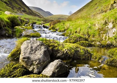 Alva Glen, Idyllic Scottish Landscape