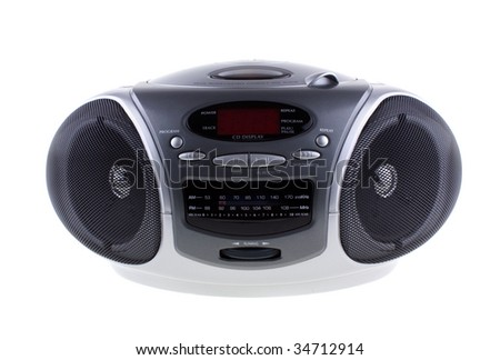 AM/FM programmable compact disc player