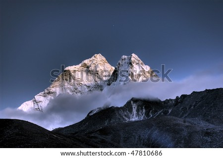 Ama Dablam- Solo Khumbu, Himalaya, Nepal