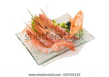 Amaebi Sashimi Sweet Shrimps 4 Pcs.