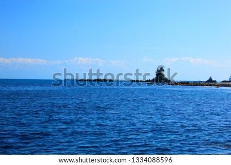 Amaharashi coast himi city toyama prefecture japan Сток-фото ©