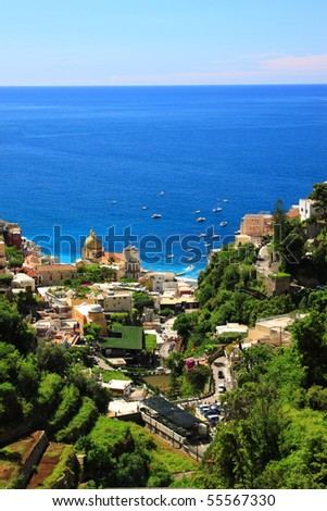 Amalfi Coast - stock photo