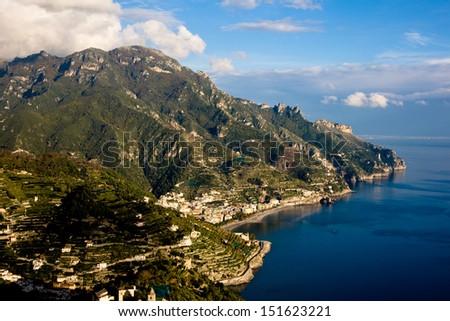 Amalfi coast in Italy #151623221