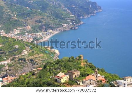 amalfi coast, italy, naples