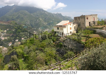 Amalfi coast (the place not far from Minori and Ravello), South Italy