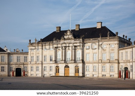 Amalienborg - The Queens residence