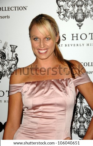 Amanda Beard at the Grand Opening of SLS Hotel SLS Hotel Los Angeles CA 12-04-08