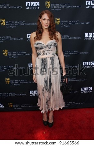 Amanda Righetti at the 9th Annual BAFTA Los Angeles TV Tea Party, L \'Ermitage, Beverly Hills, CA 09-17-11