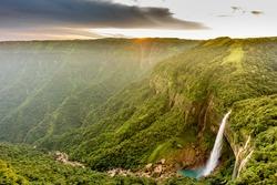Amazing and Beautiful waterfall in Meghalaya Northeast India