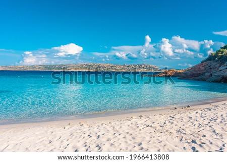 Amazing beach of Spargi island, Maddalena Archipelago, Sardinia, Italy Stockfoto ©