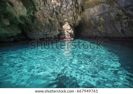 Shutterstock Amazing blue waters of the Mediterranean Sea near Malta near blue grotto from a boat