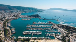 Amazing Bodrum view from the sky.