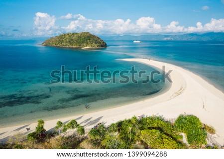 Amazing Bon Bon beach on Romblon island, Philippines