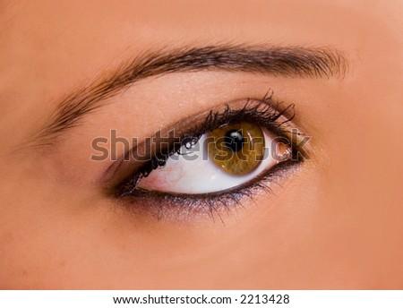 Amazing brown eye