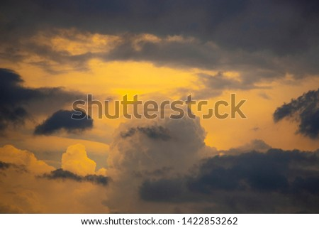 Amazing cloudscape on the sky. #1422853262