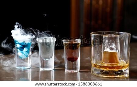 amazing Cocktails beverage in bar