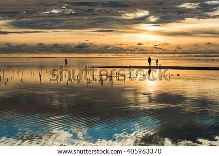 Amazing colors at Zanzibar sunrise