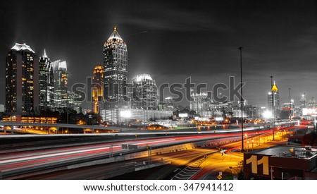Amazing downtown Atlanta, Georgia, USA