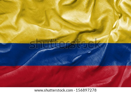 Amazing Flag of Colombia , South America