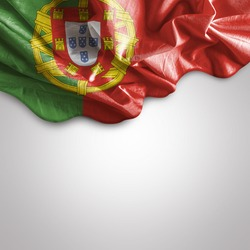 Amazing Flag of Portugal, Europe