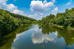 Amazing lake picture from Cannock Chase AONB, Staffordshire, United Kingdom