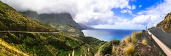 amazing landscapes and nature of volcanic Gran Canaria. Grand Canary islands of Spain