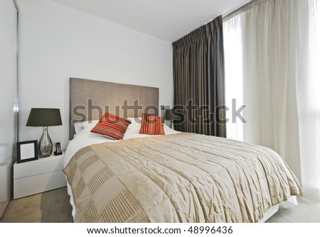 amazing luxury bedroom with contemporary accessory and furniture