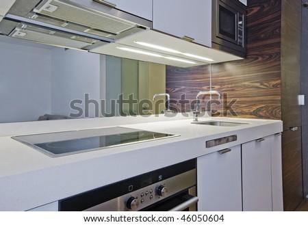 amazing luxury studio flat kitchen with modern appliances