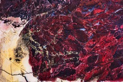 Amazing natural patterns and textures of slice of multicolored jasper minerals for background. Natural stone surfaces, backgrounds and wallpapers. Colored semi-precious stones. Beautiful color spots.