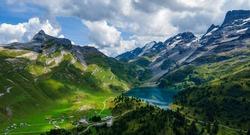 Amazing nature of Switzerland in the Swiss Alps - travel photography
