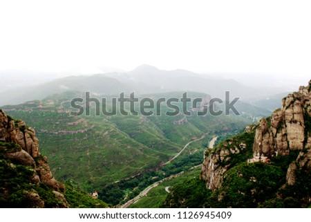 amazing place Montserrat #1126945409