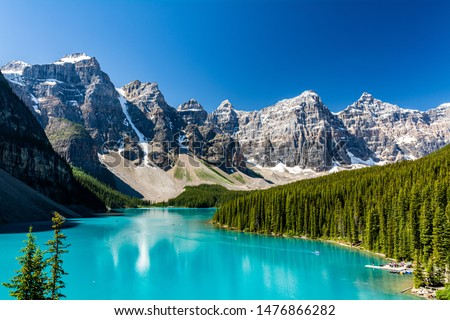 Photo of  Amazing place to be on earth. Moraine lake, Banff National Park, Alberta, Canada