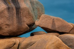Amazing Rock Formations on the Cote Granit Rose in Brittany, France