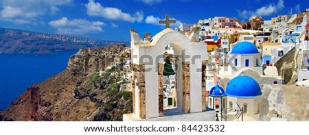 amazing Santorini - panoramic view
