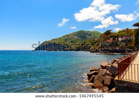 amazing sea coast in the island of ischia #1467495545