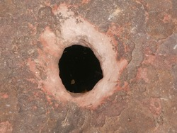 Amazing stone hole the hole is like a pot, is a natural hole.The hole is the largest group in Thailand. There are no less than 16 holes with many sizes ranging from 40 -300 cm wide mouth - 10 m. deep