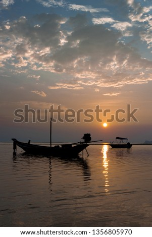 Amazing Sunsets in Thailand #1356805970