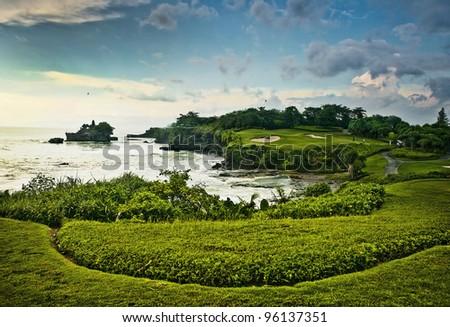 Amazing tropical landscape. Indonesia - Bali.