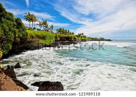 Amazing tropical landscape on Bali. Indonesia.
