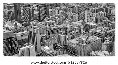 amazing urban landscape from...