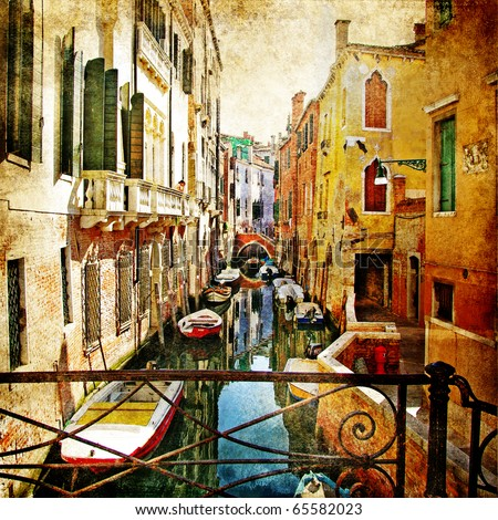amazing venice  artwork in...