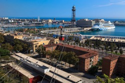 Amazing View Of Barcellona  -  Spain, Europe