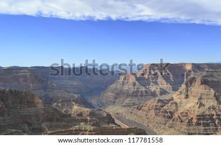 Amazing view of Grand Canyon.Arizona. USA
