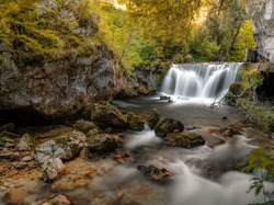 Amazing Waterfall. one of the most beautiful water fall in Bosnia and Herzegovina. its worth to visit this place.