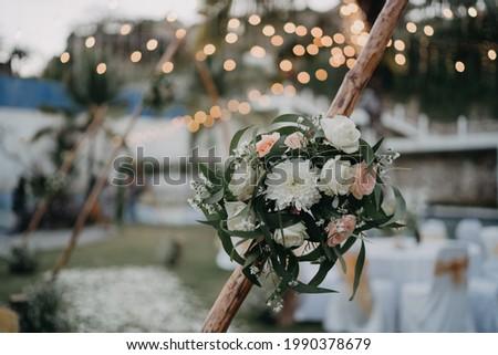 Amazing wedding decorations in Bali island