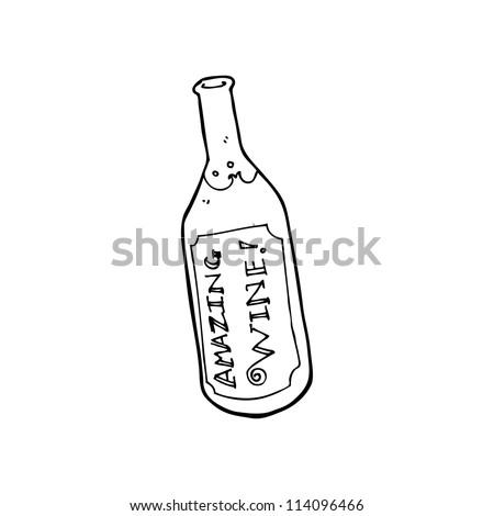 amazing wine cartoon