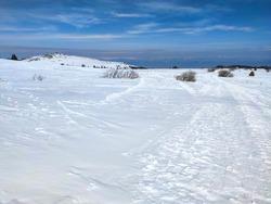 Amazing Winter view of Vitosha Mountain, Sofia City Region, Bulgaria